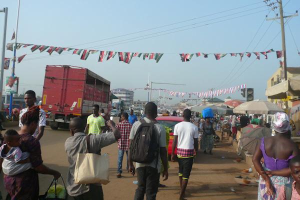 Eindrücke aus Ghana